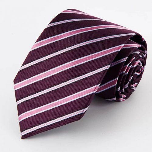 Purple Regiment Stripe